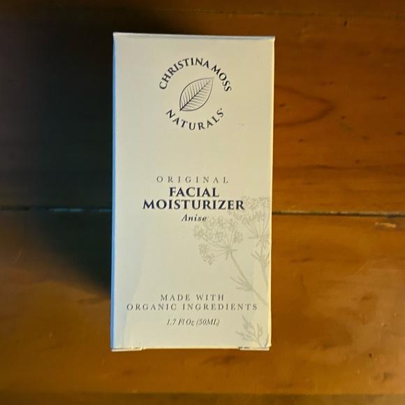 christina moss Other - Christina moss facial moisturizer